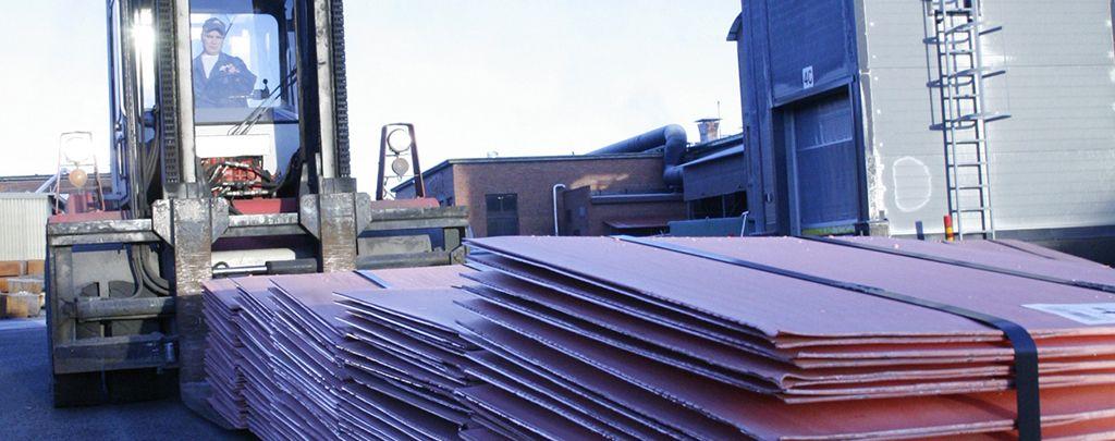 Cathode copper, Rönnskär smelter, Boliden